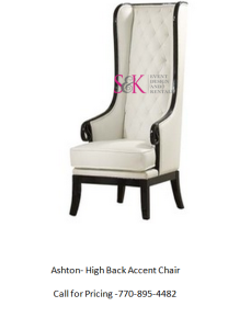 Ashton  High Back Accent Chair