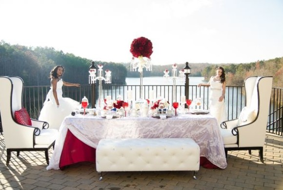 Queen of Hearts Styled Shoot