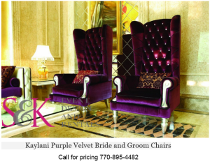 Attractive Kaylani Bride And Groom Chairs