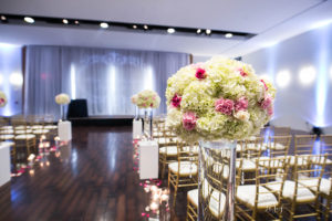 Wedding Ceremony, Pink & Gold - Copy